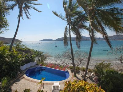 Photo for Romantic, Private Villa On Beautiful Zihuatanejo Bay - Mexican Riviera