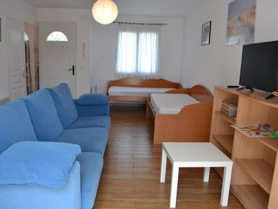 Photo for STUDIO 50 M2 NEAR BEACH-WIFI-GARDEN-PARKING-SHEETS AND TOWELS PROVIDED