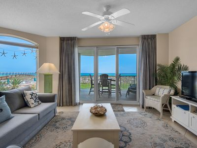 Photo for Beach Service Included! 1st floor unit, no elevator needed!