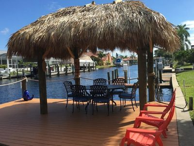 Photo for Modern 4 Bd/3 Bath Waterfront Home with Quick Gulf Access & Heated Pool