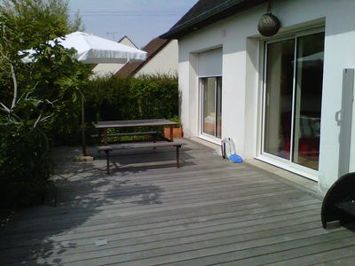 Photo for Pavilion with terrace and garden, overlooking the Barony