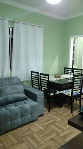 Photo for 1BR Apartment Vacation Rental in Guaruja, SP