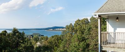 Photo for Stunning Home with Panoramic Views of Table Rock - 2 Decks!