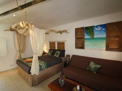 Photo for Apartment ZEN ALIZES quiet in the city center, swimming pool and private parking