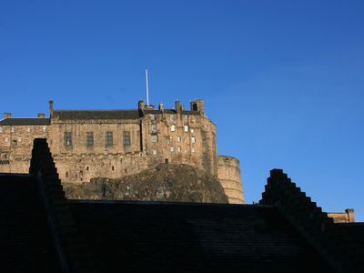 Photo for Grassmarket Penthouse Apartment with Castle Views