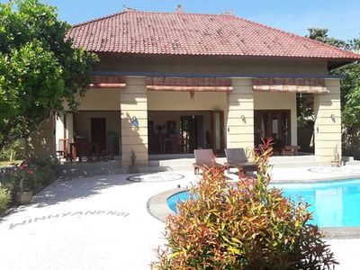 Photo for Private Villa 2BR,4 persons,Swimming Pool, best diving area.