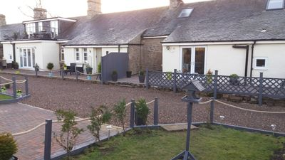 Photo for Charming pet friendly cottage near the pretty village of Norham Northumberland.