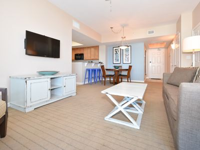 Photo for BRIGHT FURNISHINGS, PRIVATE BALCONY! Featuring community POOLS & nearby BEACHES!