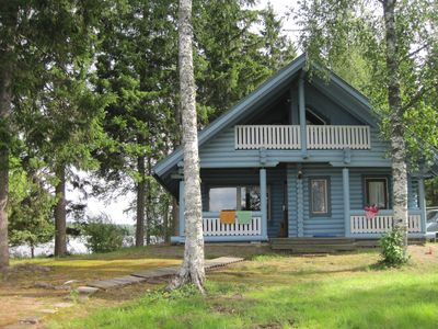 Photo for Kömmäkköniemi – Your Log Cottage in Central Finland
