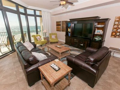 Living Room-Phoenix West II 409-Orange Beach, AL