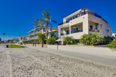 The Royal Tern Vacation Home Ground Floor accommodations, step out on the beach.
