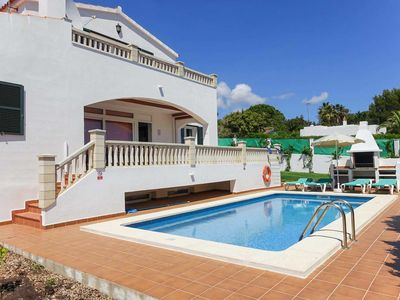 Photo for 3 bed 2 bath villa w/private pool, car essential, free WiFi & A/C, pool table.