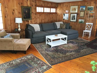 Photo for A Writer's Home at the Edge of the Forest on the Boothbay Peninsula