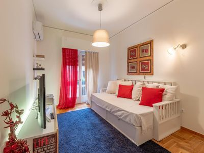Photo for Elegant flat at the Top Sightseeing location in Athens in a quiet neighborhood!!