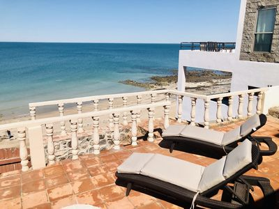 Photo for Oceanfront House  in Cholla Bay