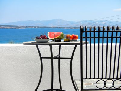 Photo for Paros Naoussa ''Playera'' 1st floor sea-view bungalow