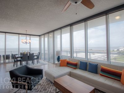 Photo for Deluxe 2 BR Condo near Beach w/ WiFi, Complex Pool & Gym Access