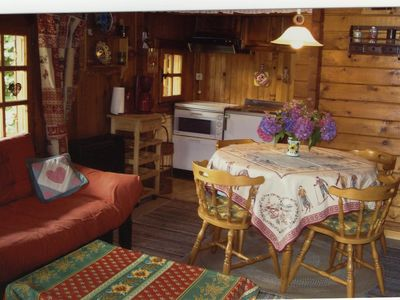 Photo for Holiday flat in a chalet, beautifull location,  panoramic view