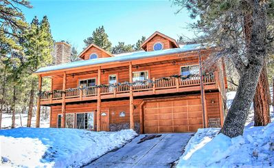 Photo for House in Big Bear with Parking, Internet, Balcony (983475)