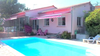 Photo for VILLA CLIM 8 PERS SWIMMING POOL HEATED TTE YEAR WIFI BARBECUE GARDEN CLOSE SEA