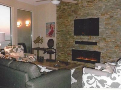 Enjoy Fabulous Surround Views from Large 2/2 Condo- With Electric Fireplace!