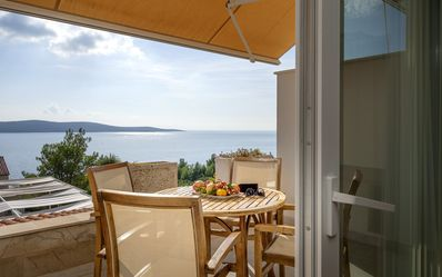 Photo for Luxury apartment with great sea view and pool