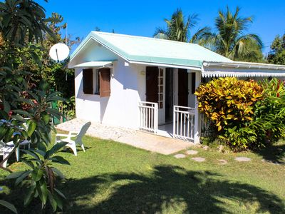 Photo for 1BR Bungalow Vacation Rental in Sainte-Anne, Guadeloupe