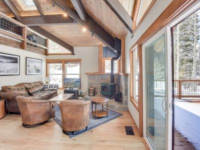 Photo for Mountain Modern Alpine Home with Custom Hot Tub, BBQ Deck
