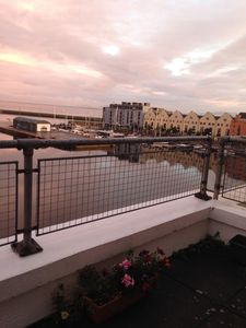 Photo for Penthouse Apartment Overlooking The Harbour - Galway Bay View