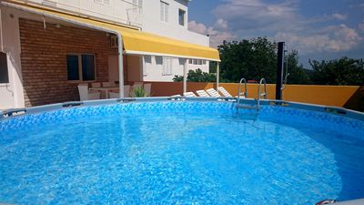Photo for ctim296 - Apartment with gym and pool for 6 + 2 persons