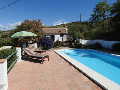 Photo for Quiet rural villa with private pool and fabulous panoramic views