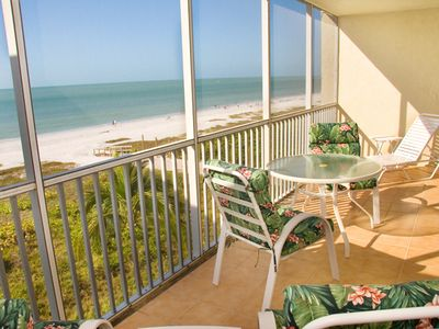Photo for Two Bedroom, Gulf Front Condo Located off of Middle Gulf Drive, Sanibel Surfside 136