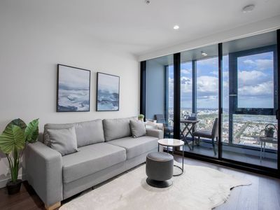 Photo for Skyline seaview 2BR with CARPARK&POOL&GYM@Crown