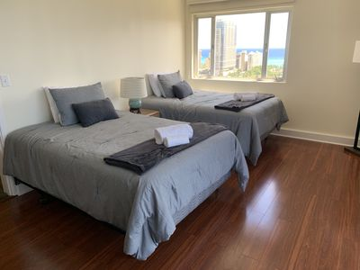 Photo for High floor Luxurious Royal Garden Two Bedroom, Two Bath Condo with Ocean Views!