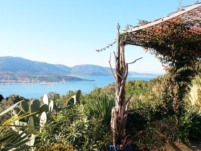 Photo for charming accommodation with views over the Gulf of Valinco