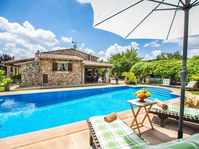 Photo for Beautiful stone house with a private swimming pool and a large garden