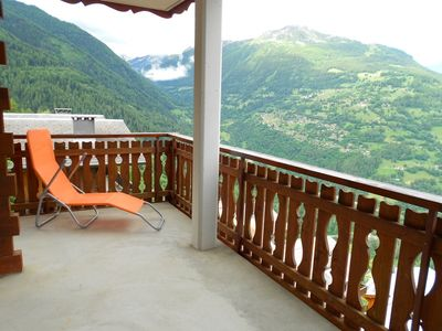 Photo for 3* 2-bedroom-apartment for 4people located 600m from the ski-lift in a quiet and sunny environment.O