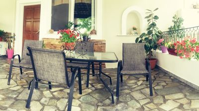 """Photo for """"Petros House""""  Sunny and Comfortable  Two Bedroom House with  Big garden."""
