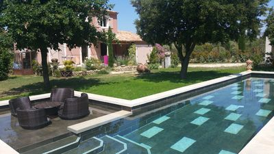 """Photo for Charming house, style """"Bastidette Provençale"""" in its green setting ..."""