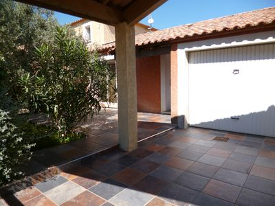Photo for Holiday villa of 76 m² with all comforts - near the beach - Narbonne-Plage