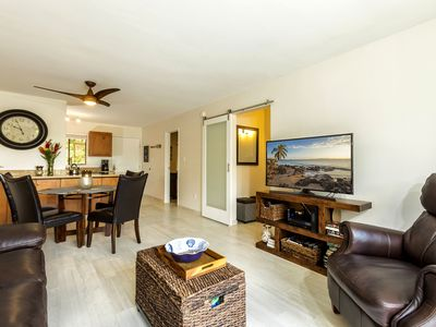 Photo for Brand New Remodel/ 2 Bedroom/ 2 bathroom /steps from the beach.  Free WIFI