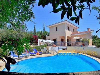 Photo for Large Pool & Garden, Sauna/jacuzzi,table tennis, Peaceful Area, Near to the Sea
