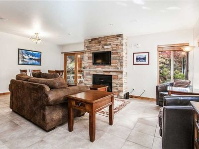 Photo for Walk to the Slopes from this Updated Condo with Pool and Hot Tub Access