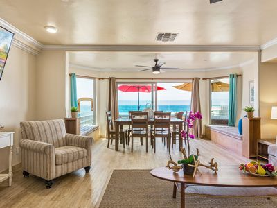 Photo for Incredibly Spacious 3 BR at Beach Level Designer Decorated & A/C