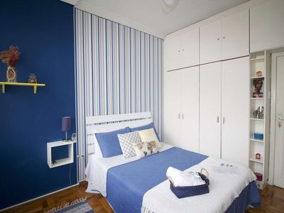 Photo for CaviRio - 3BDR apartment in the heart of Ipanema (VP601)
