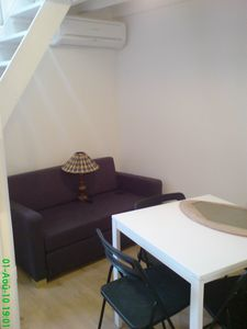 Photo for Charming studio with mezzanine, 200m beach, center left bank, near shops