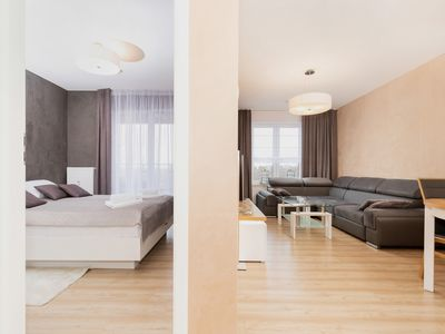 Photo for Apartment Polanki Park 401 with bedroom and balcony