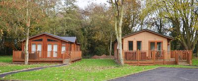 Photo for 2 Bedroom Deluxe Lodge at Norfolk Park