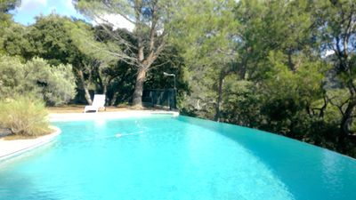 Photo for Gite in villa Provencale in the heart of the Luberon