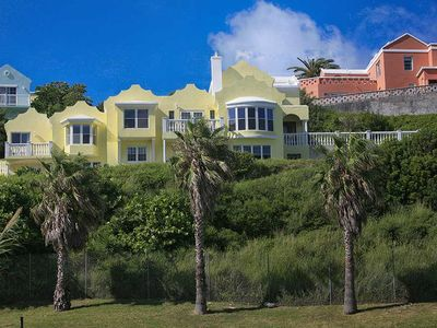 Photo for Breathtaking beachfront property with private beach